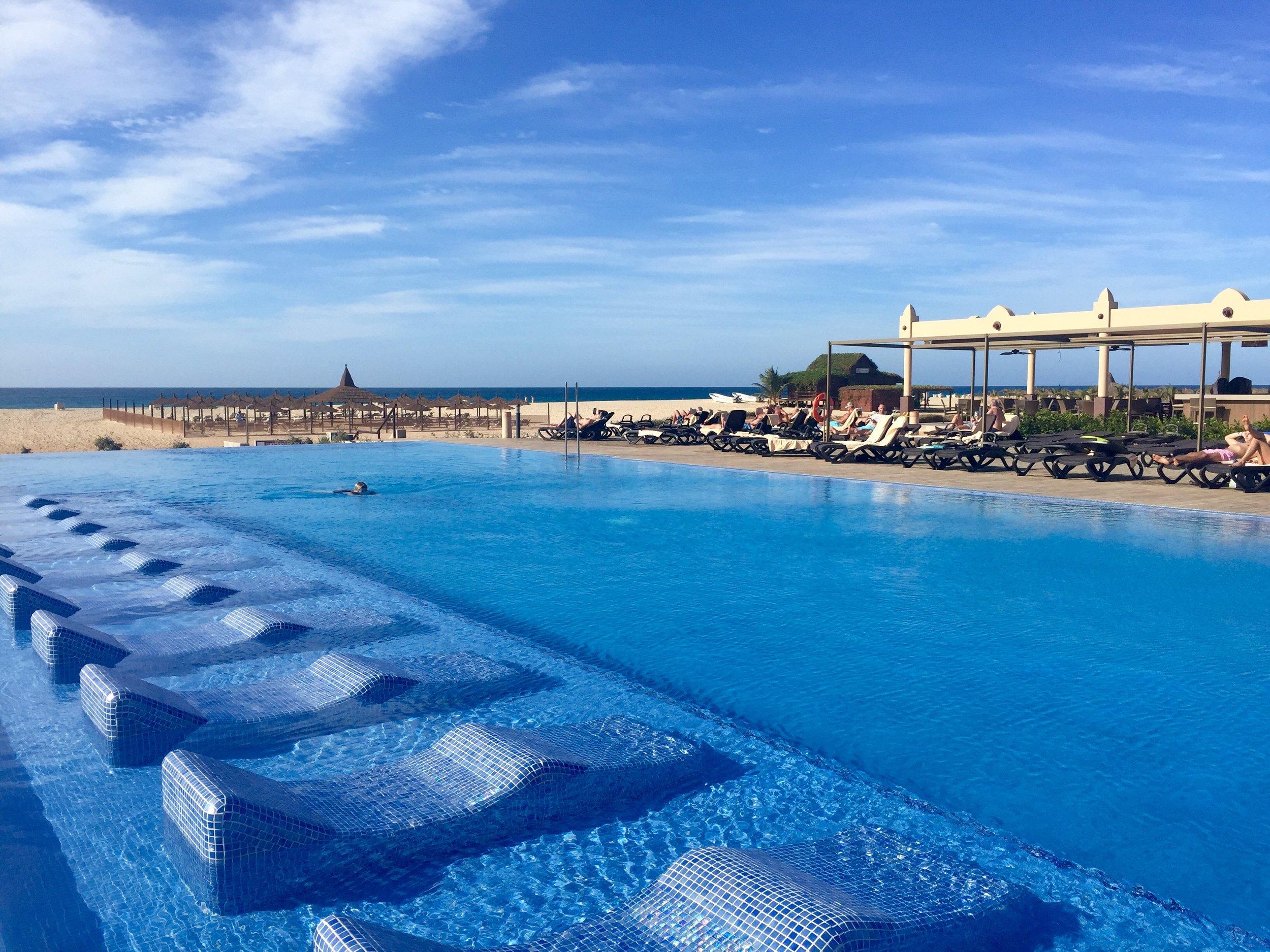 The Infinity Pool, Riu Touareg Hotel, Cape Verde