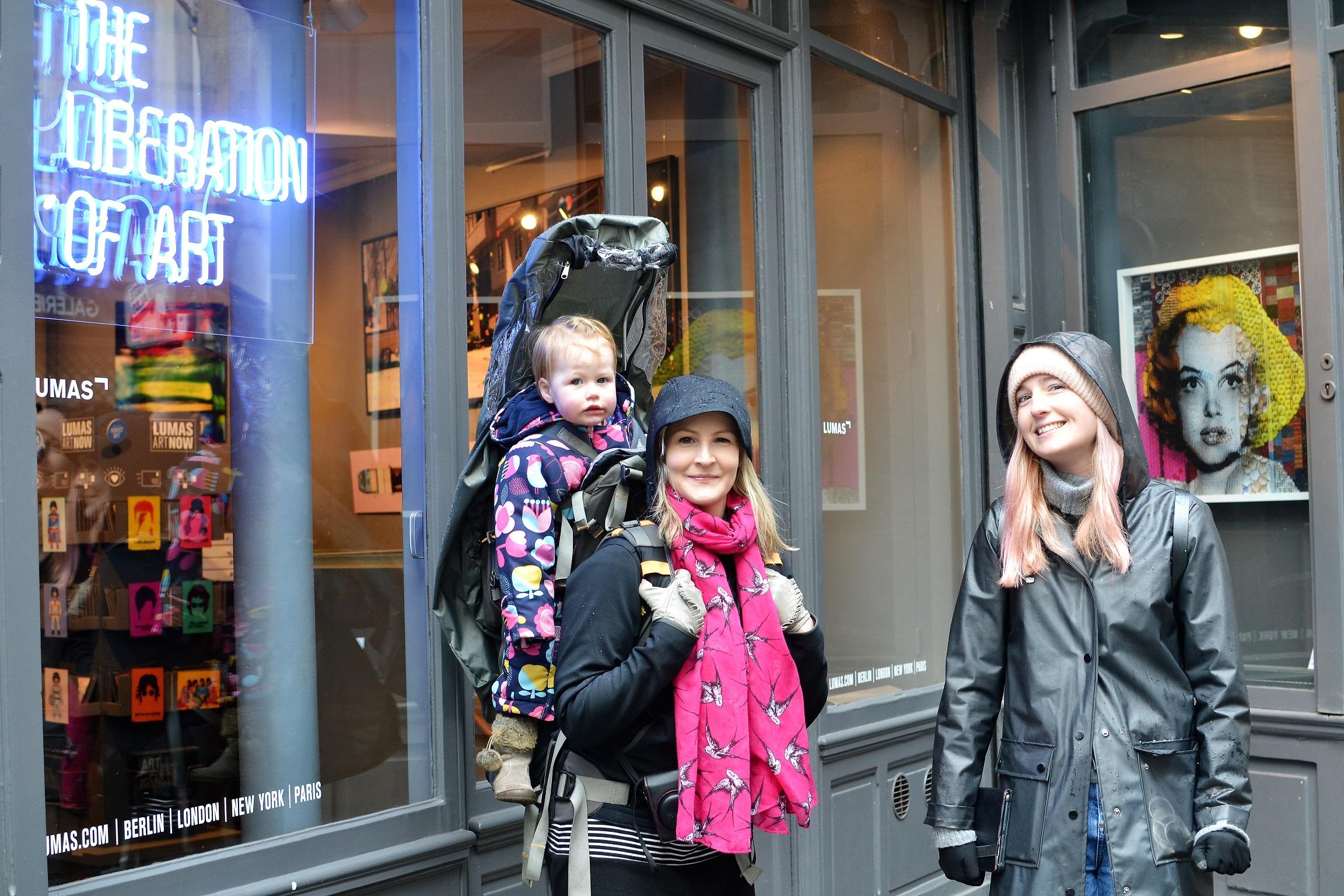 Paris Walking tour liberation of art