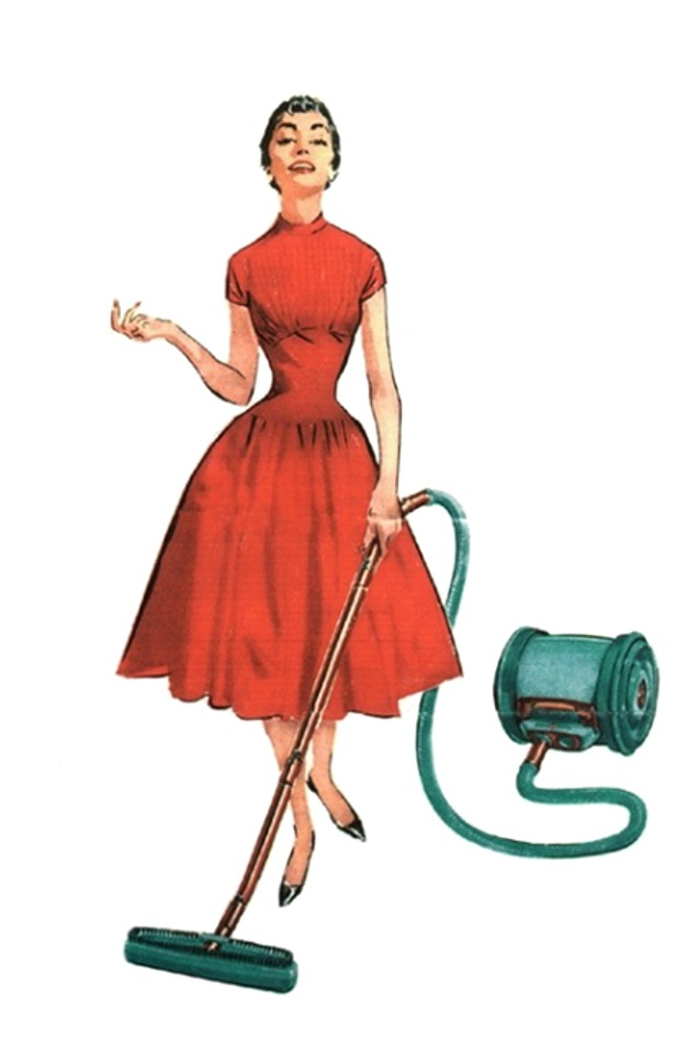 retro house wife