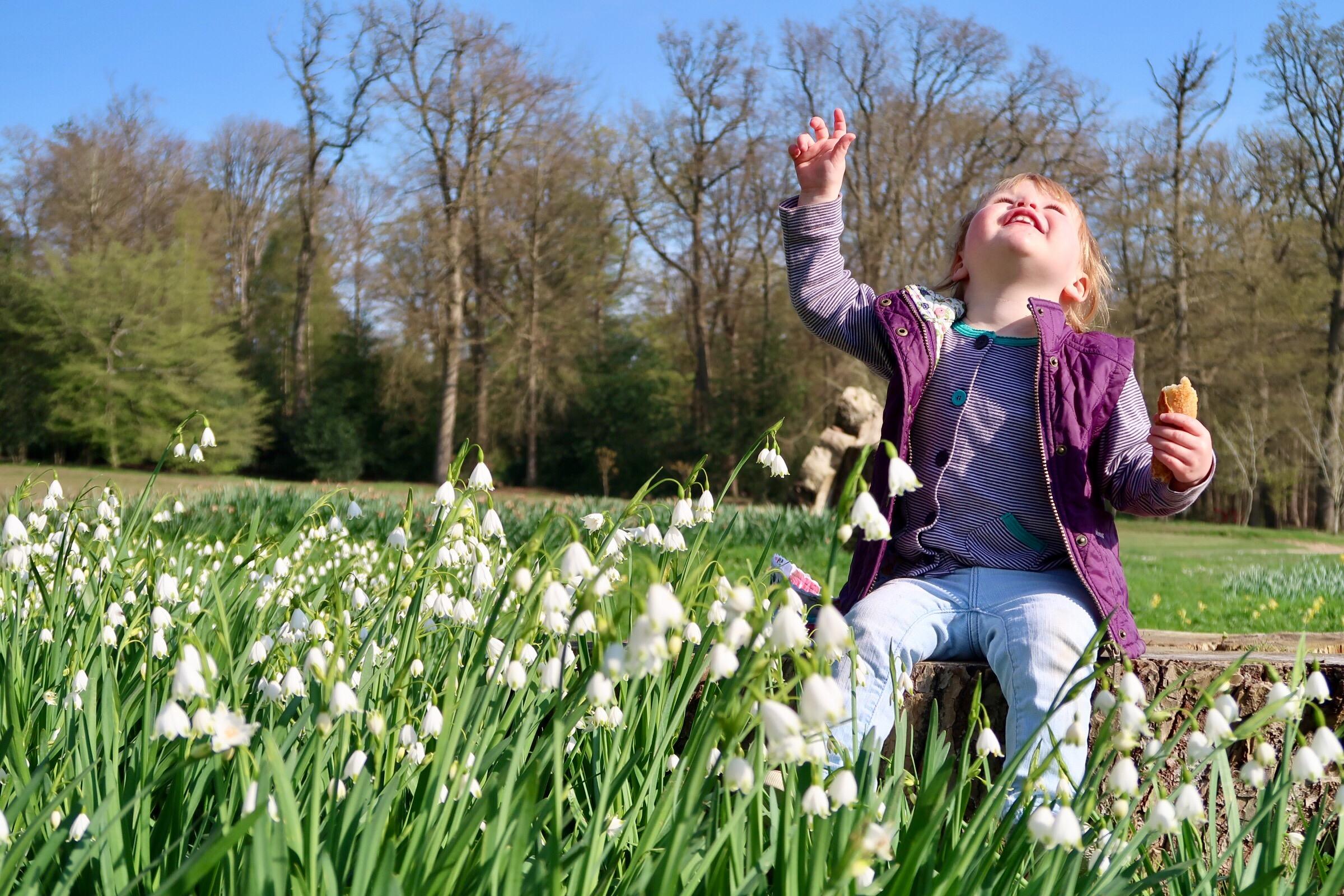 Enjoying Spring at Thoiry Zoo, near Paris