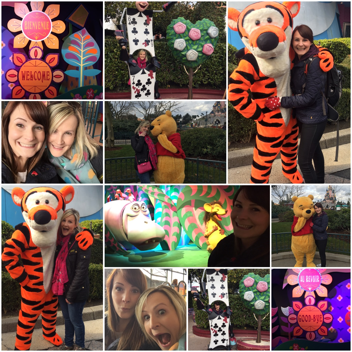 My lovely sister and I having some Disney fun times - it's for big kids too!!