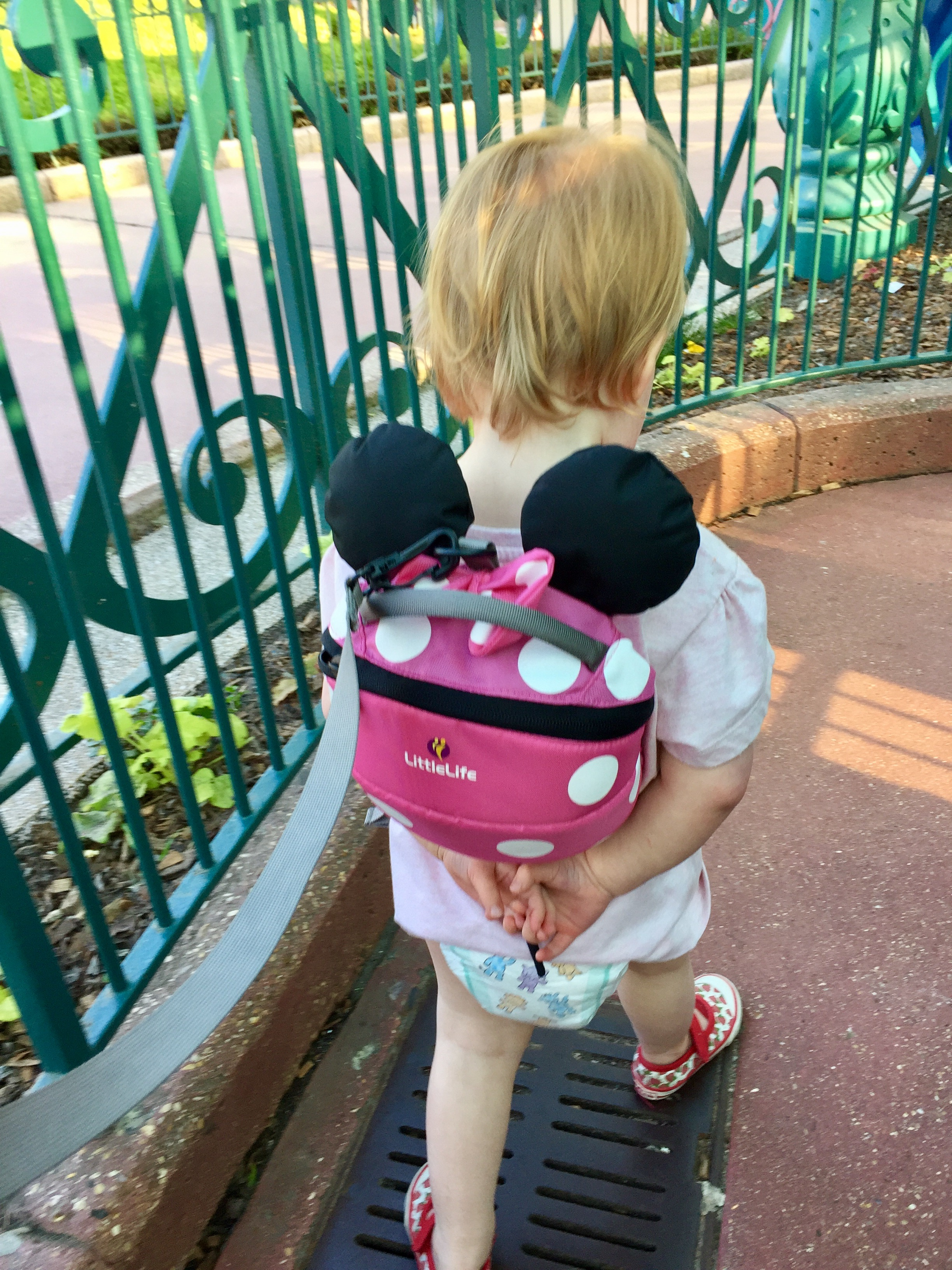 "Please note my ""mummy fail"" - where I learnt the hard way to remember spare clothes....it's remarkably tricky to buy just bottoms for a small person in Disney!"