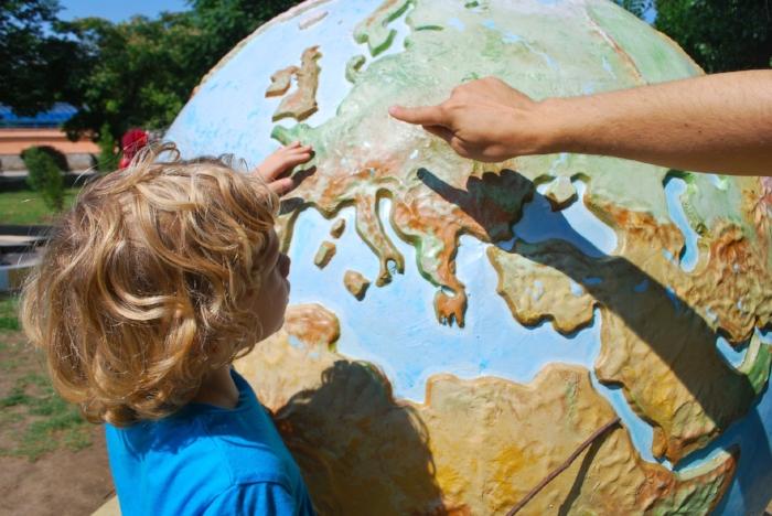 teaching globe
