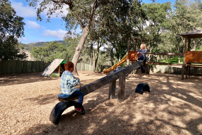 grimaud village play park