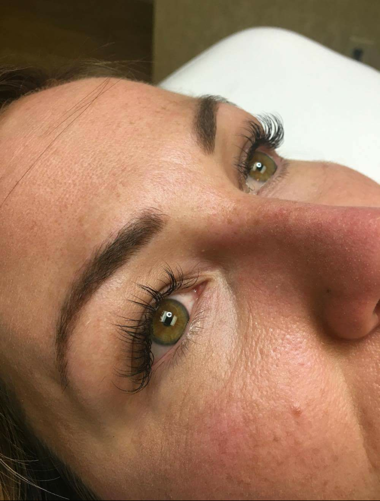 """""""Amanda's lash work is impeccable. She is very professional and creates an incredibly comfortable environment. I absolutely love my lashes and always feel fabulous when I leave!"""" -Brandilyn"""