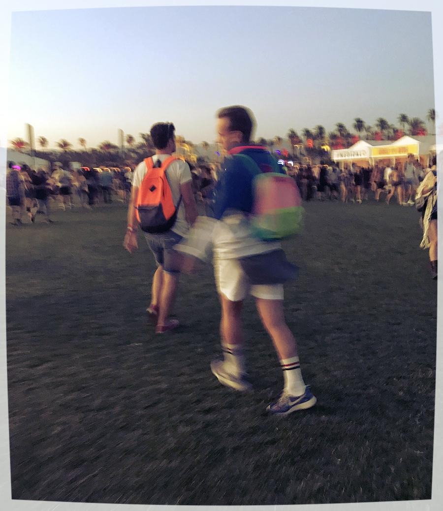 Ben defying gravity