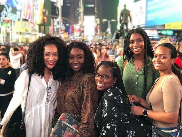 Missing my #BlackOnCampus sisters ❤