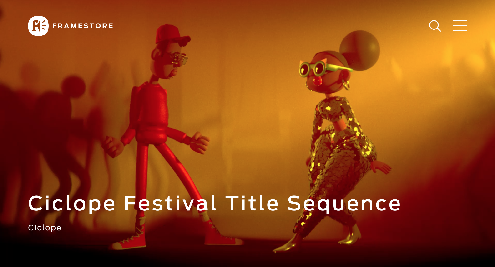 Click through to watch the butt-shaking title sequence and read the project write-up