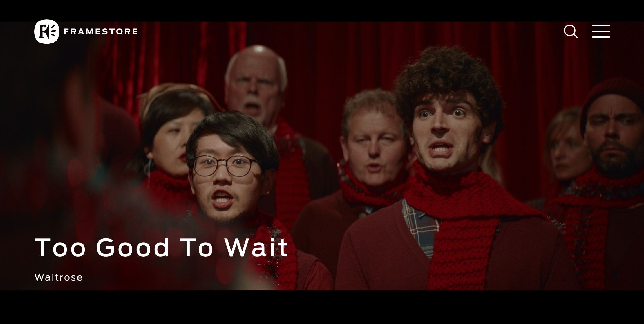 Click the image above to watch the ads on Framestore's site