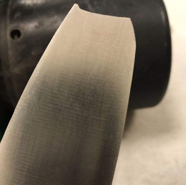 Broken American chef knife German steel converted to Santoku style. #weknowSharp #jackknife