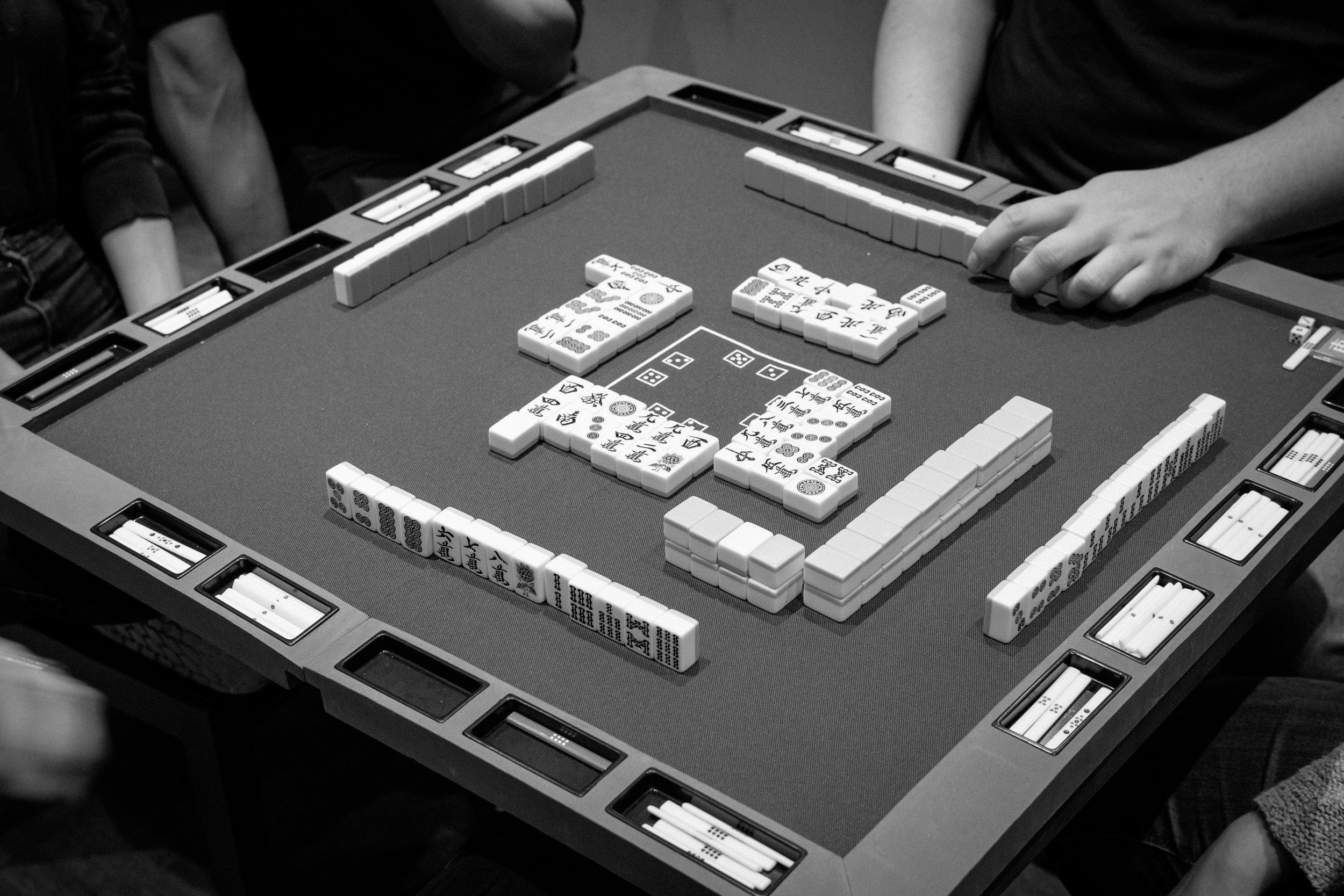 We need players for mahjong!