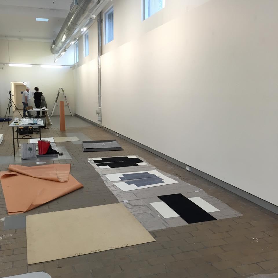 Greyscale installation, 2017