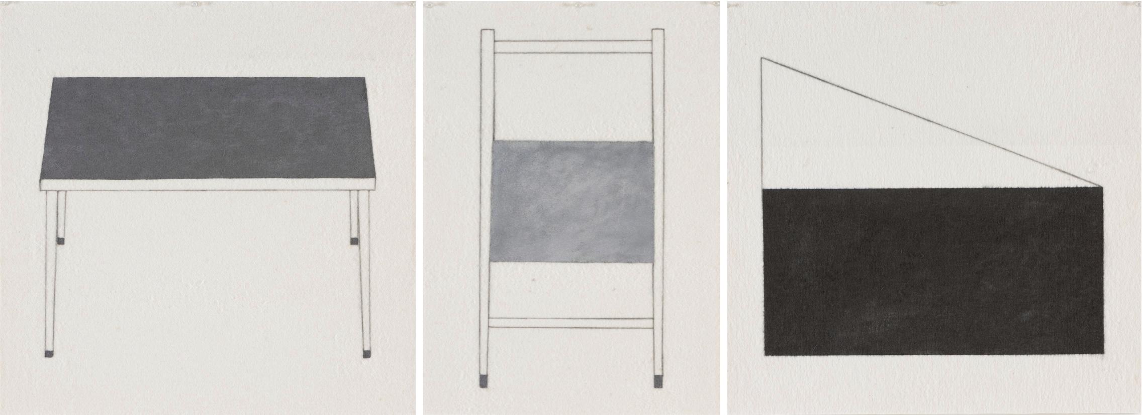 Studio Trilogy a, b, c, 2018