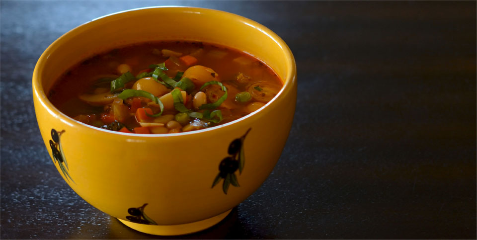 Minestrone - Malibu Beach Recovery Diet Cookbook