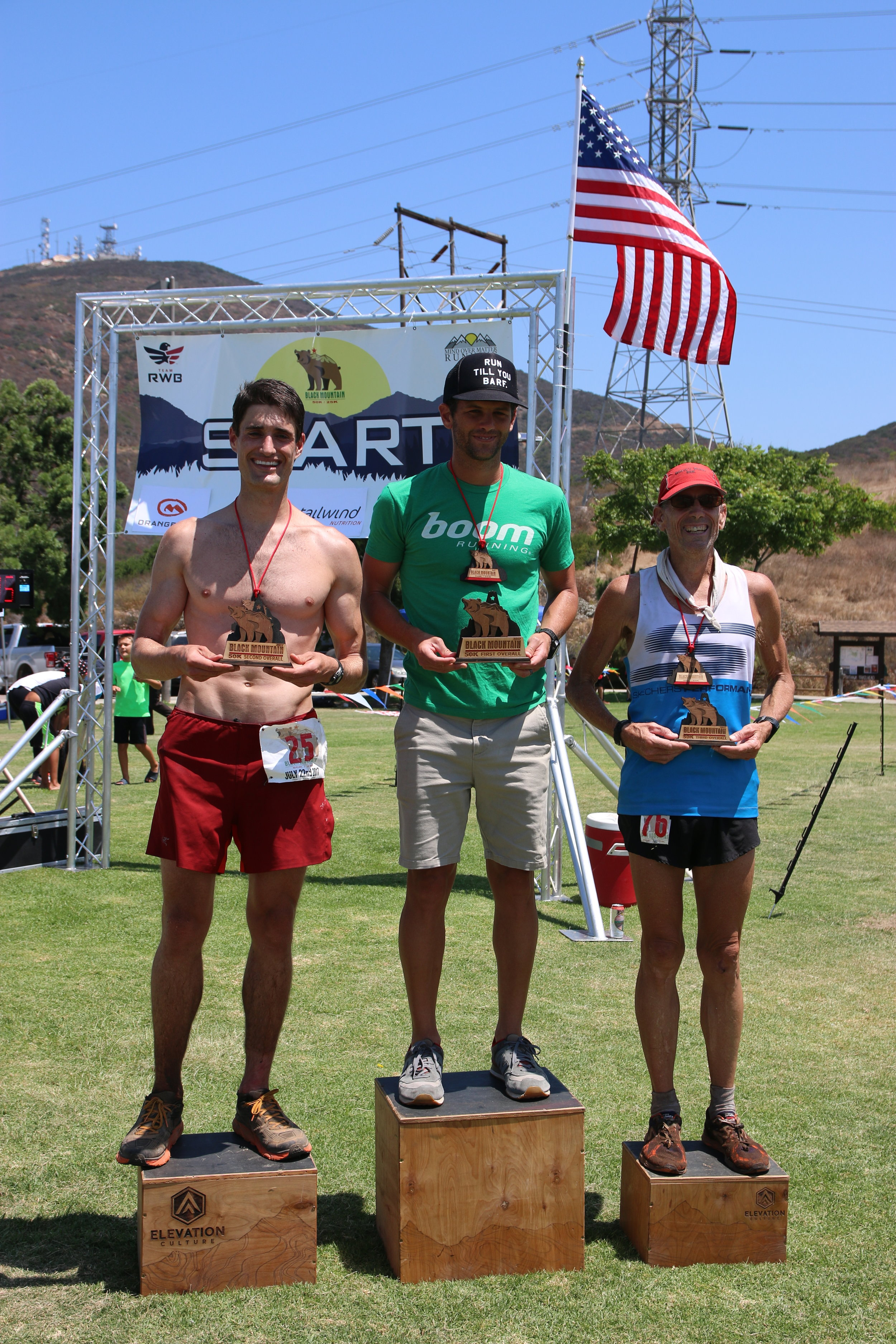 50K Winners: Travis Dietrich, Stephen Blea, and Eric Clifton