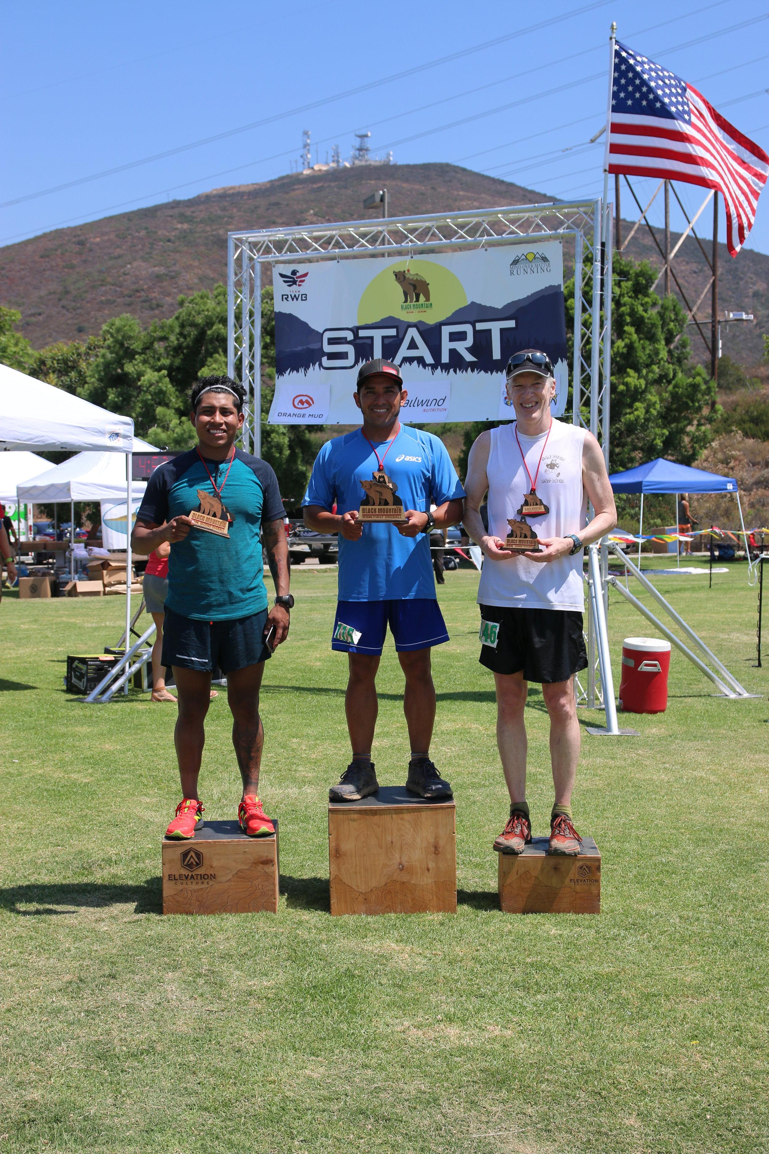 25K Winners: Beto Campos, Pablo Salmeron, and Wade Blomgren