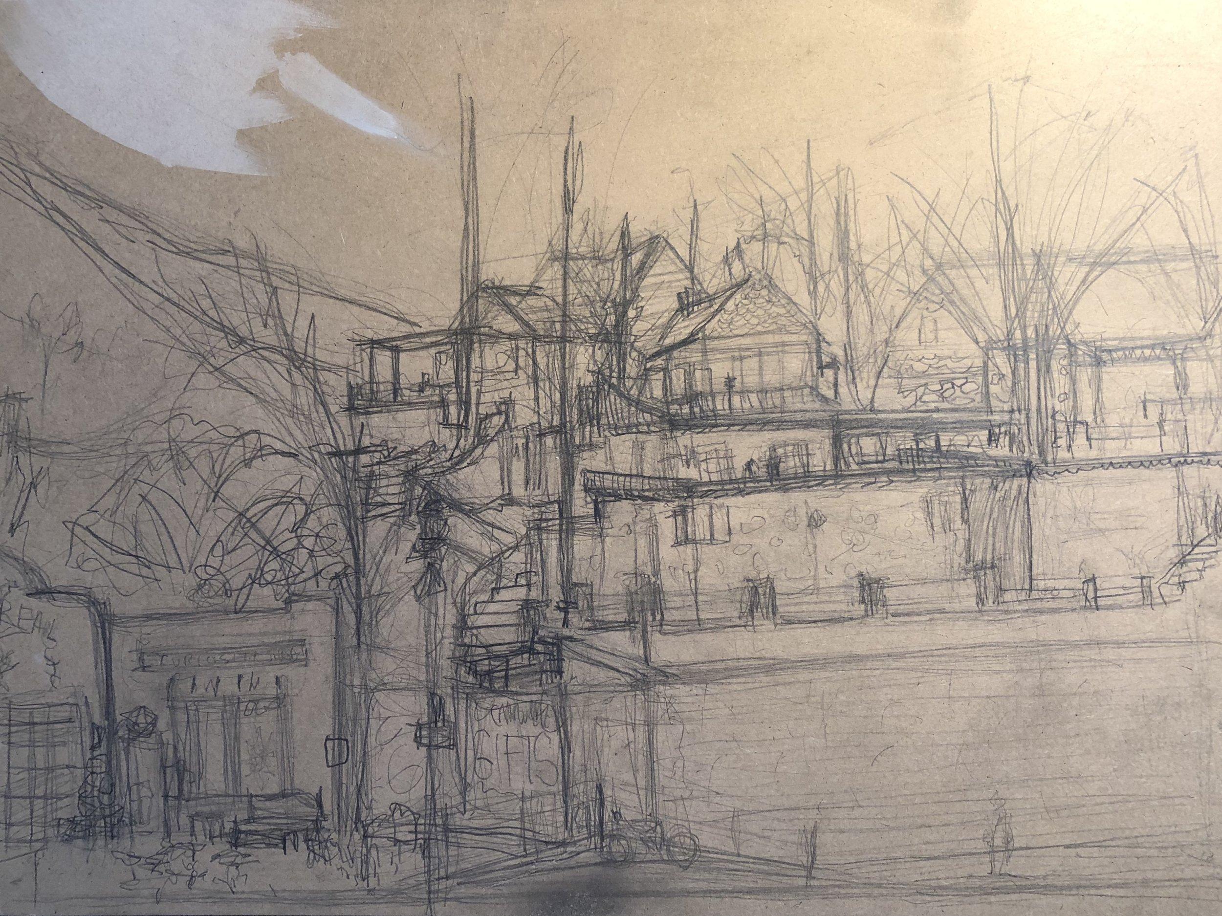 "12""x 16"" sketch"