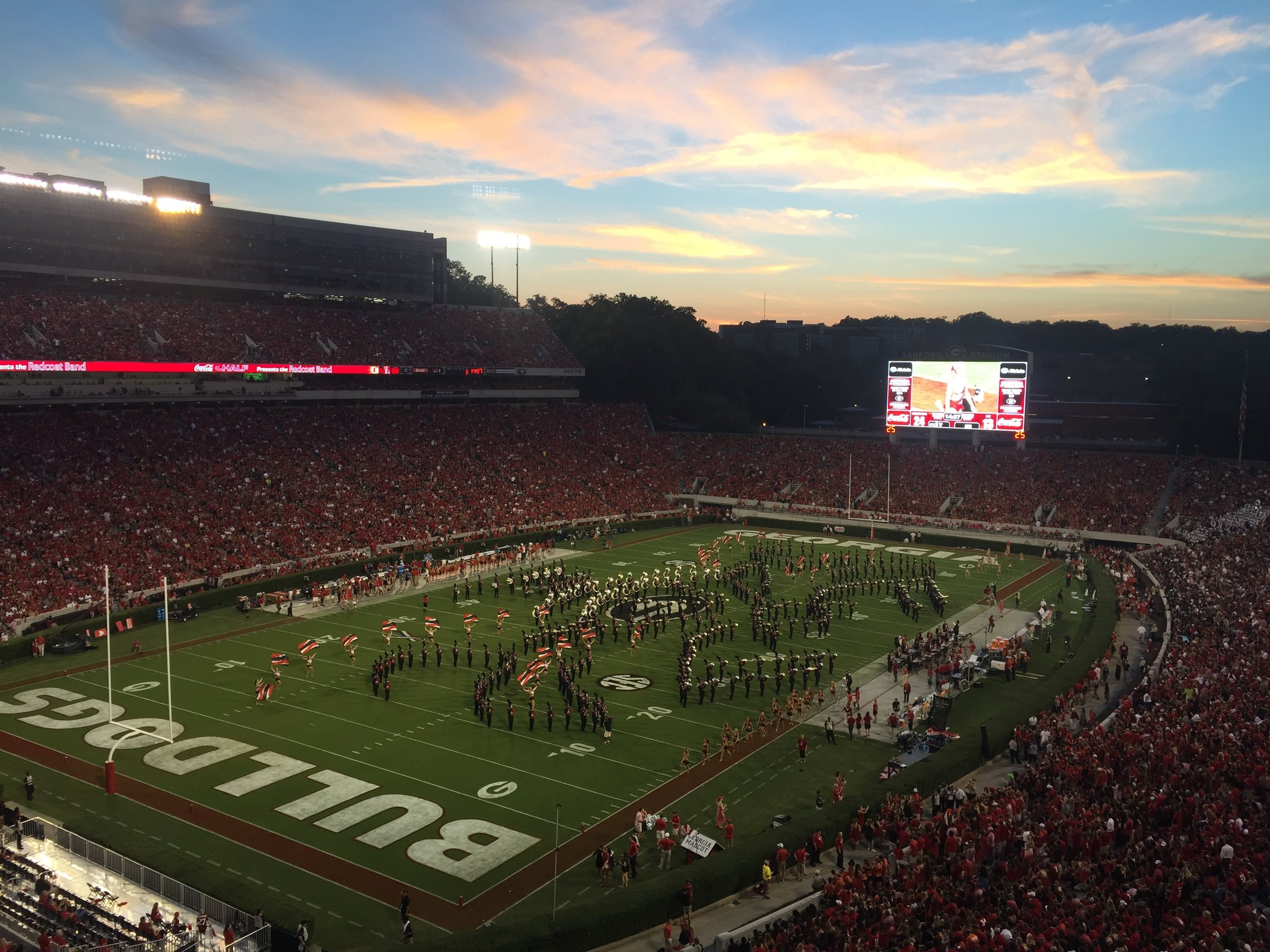 Sanford Stadium, Athens, Georgia