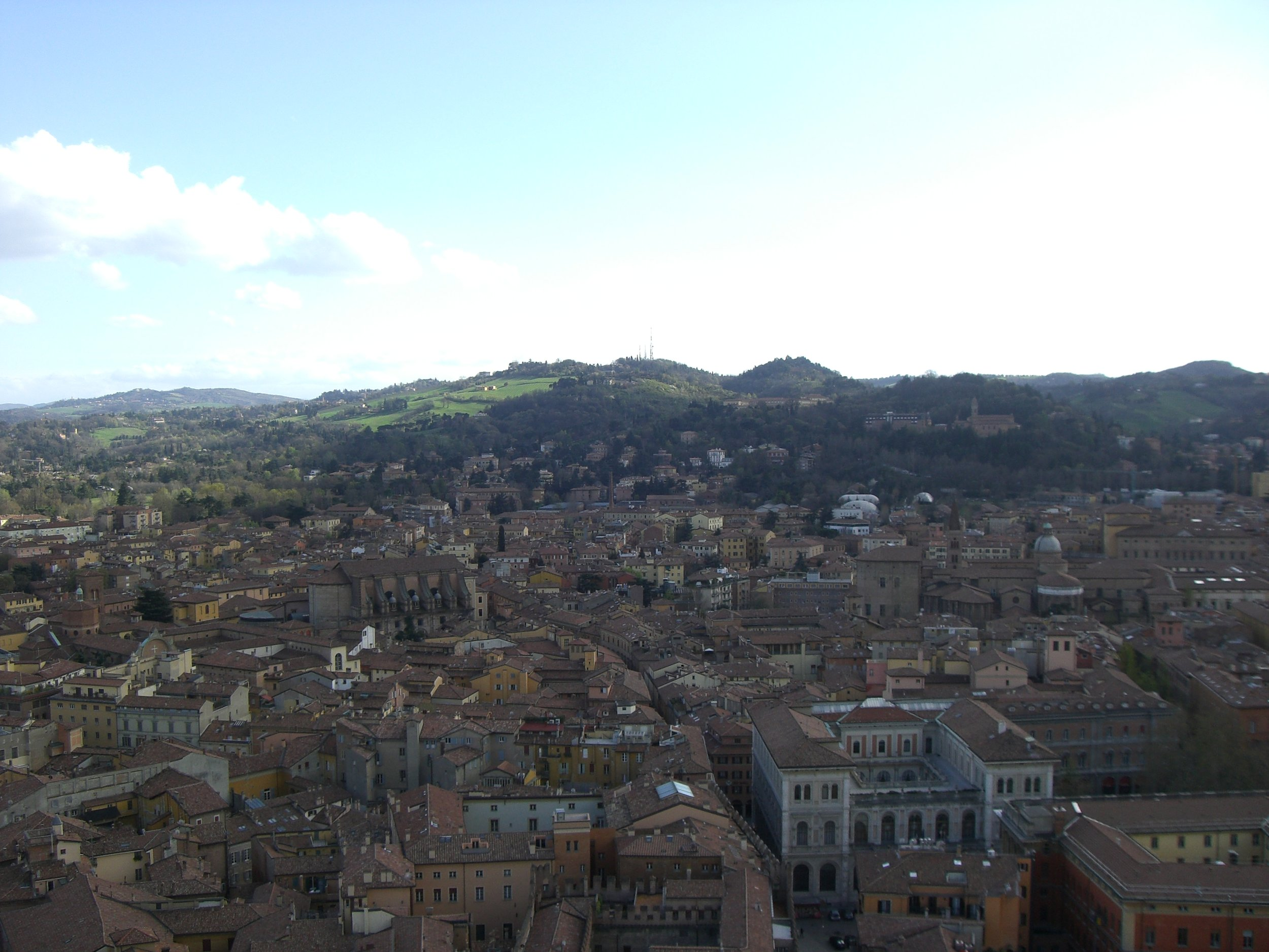 View from Torre degli Asinelli