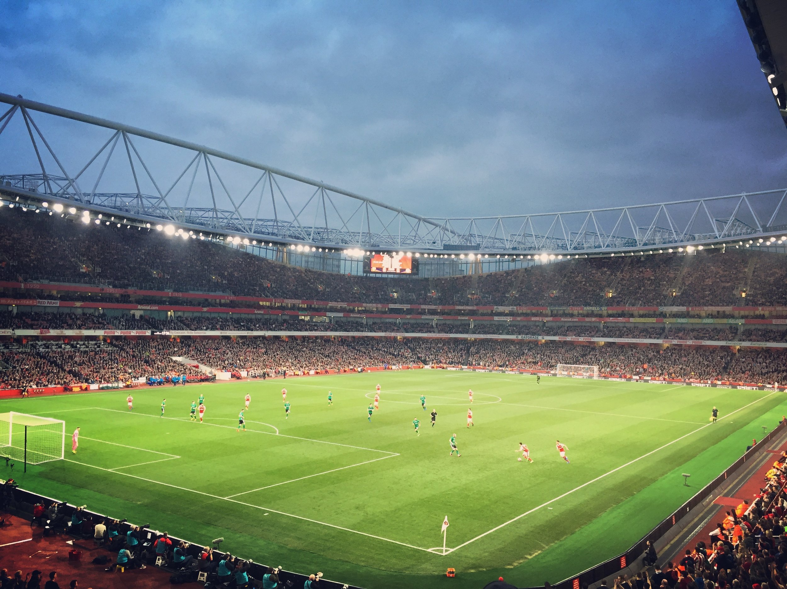 Arsenal vs. Lincoln City