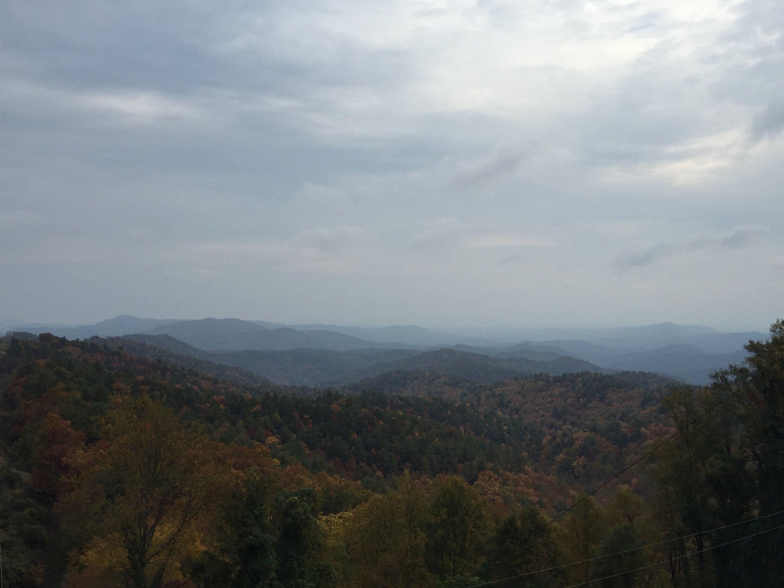 North Carolinas mountains