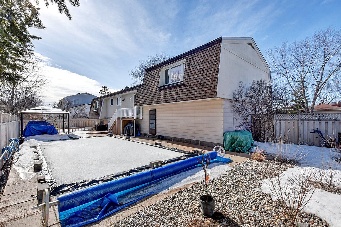 Before  Weather Facelift - 46 Larkin Ave - Presented By Nancy Allen - ReMax Affiliates
