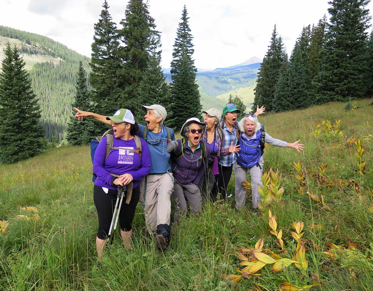 Great Old Broads for Wilderness, courtesy Osprey Packs Inc.