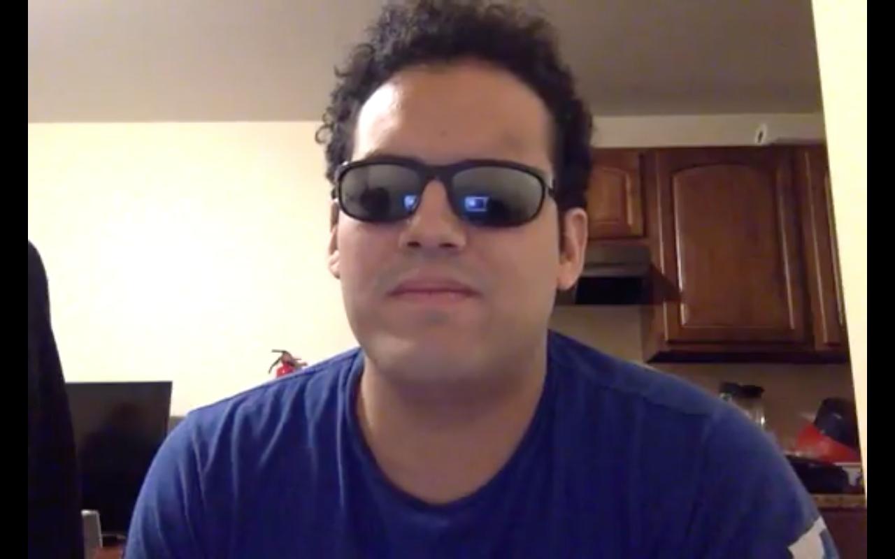 Screenshot. Click here to watch David's Holman pitch video.