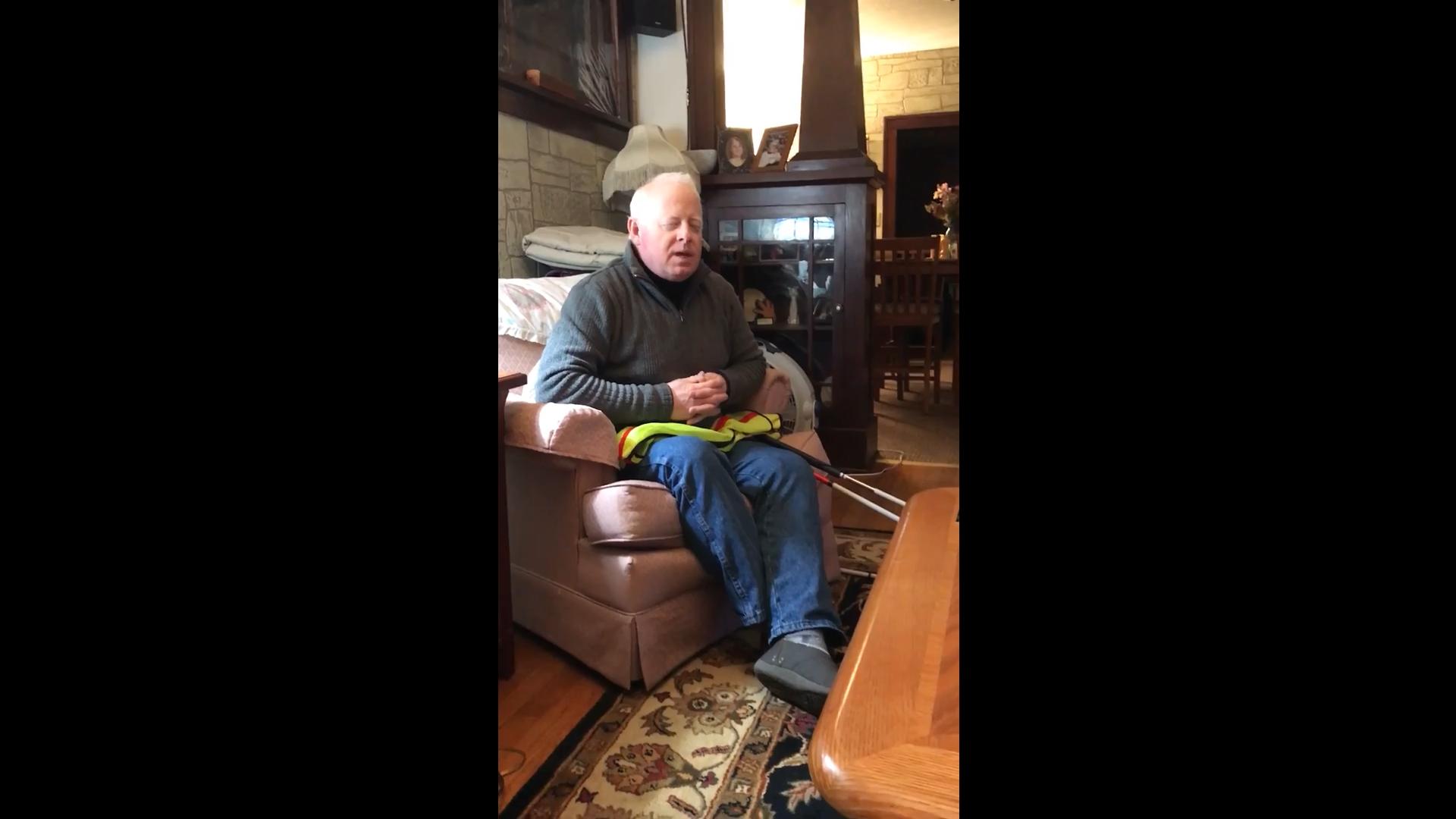 Screenshot. Click here to watch Jeffrey's Holman pitch video.