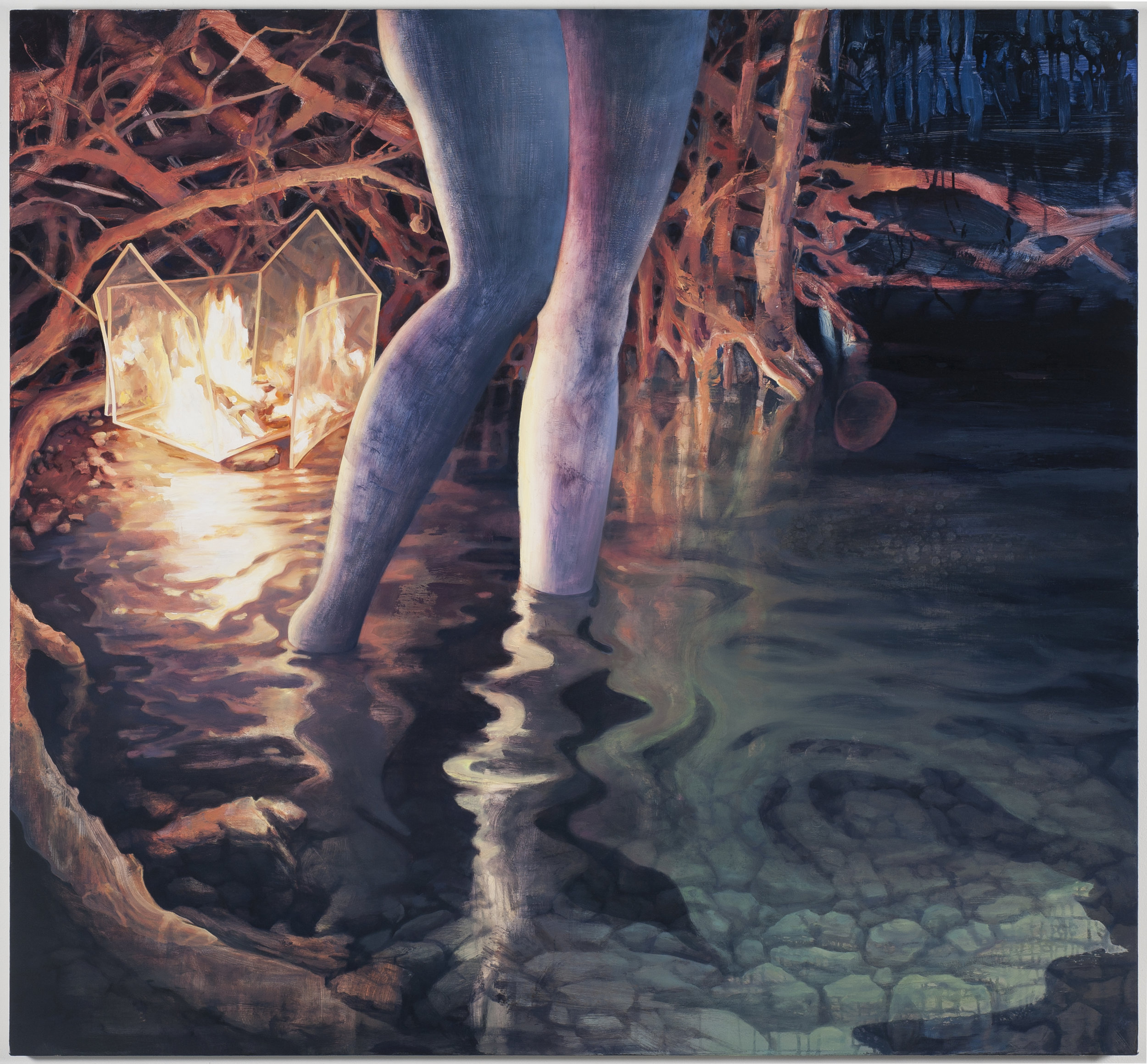 Drink Me, 2011, Oil on canvas, 52x56inches