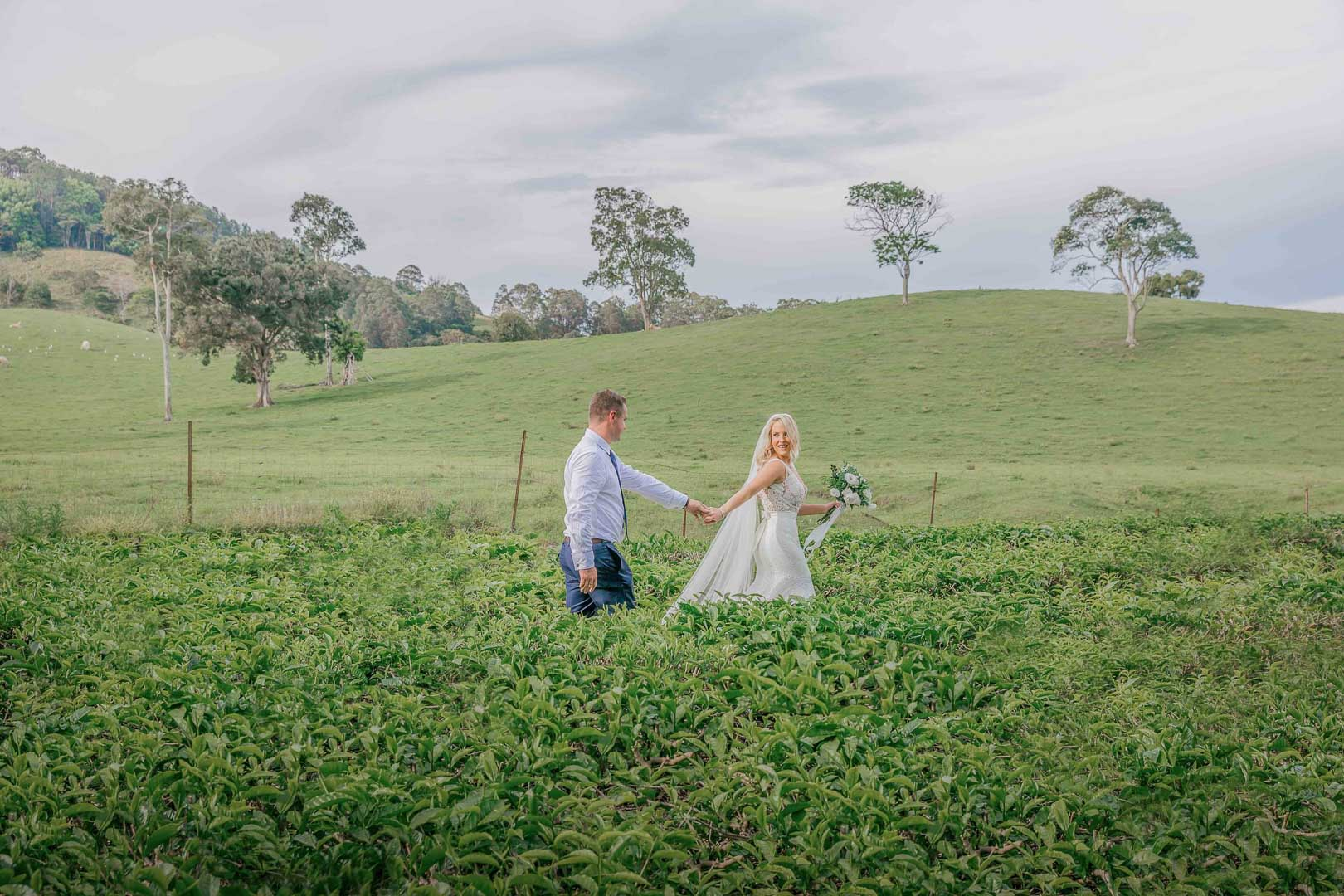 ZOE AND REILEY - MADURA TEA ESTATES,  NEW SOUTH WALES, AUSTRALIA