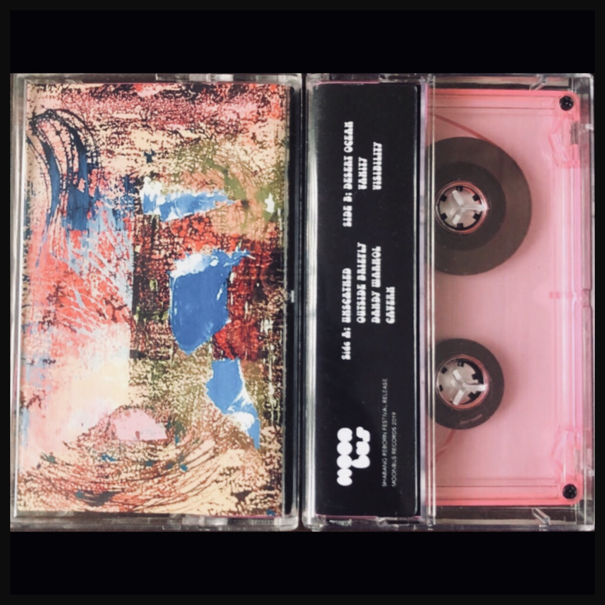 Youth Unscathed limited edition cassette