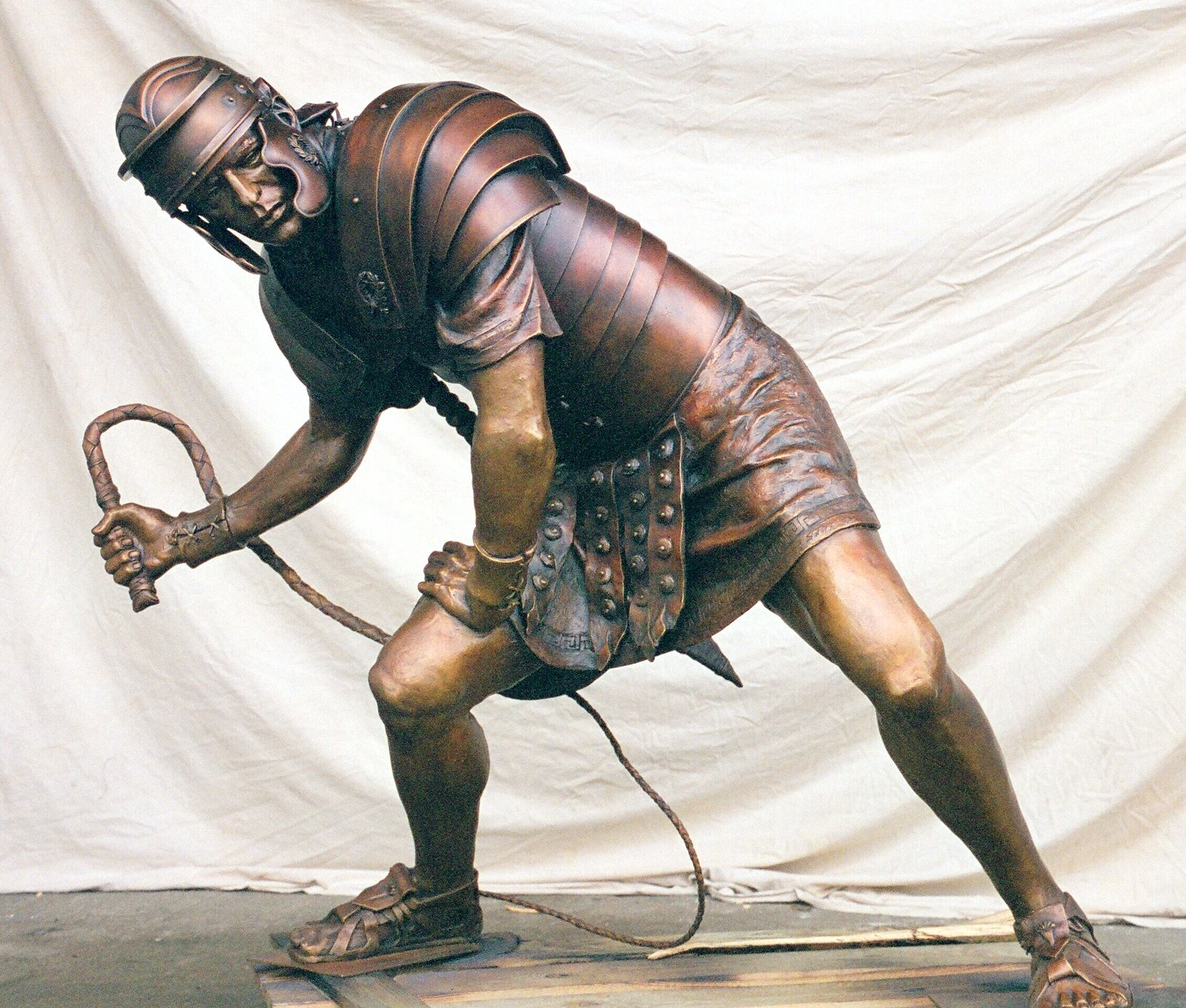 Slatoff_Jesus Falls_Bronze_13-Roman Soldier.jpg
