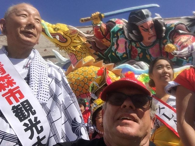 The summer festival in Little Tokyo was great. I'll be working on a Nabuta lantern float with a master from Japan