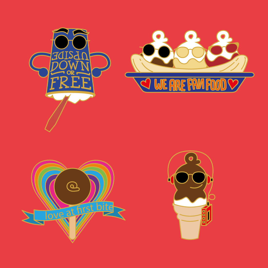 Pin Design Dairy Queen China