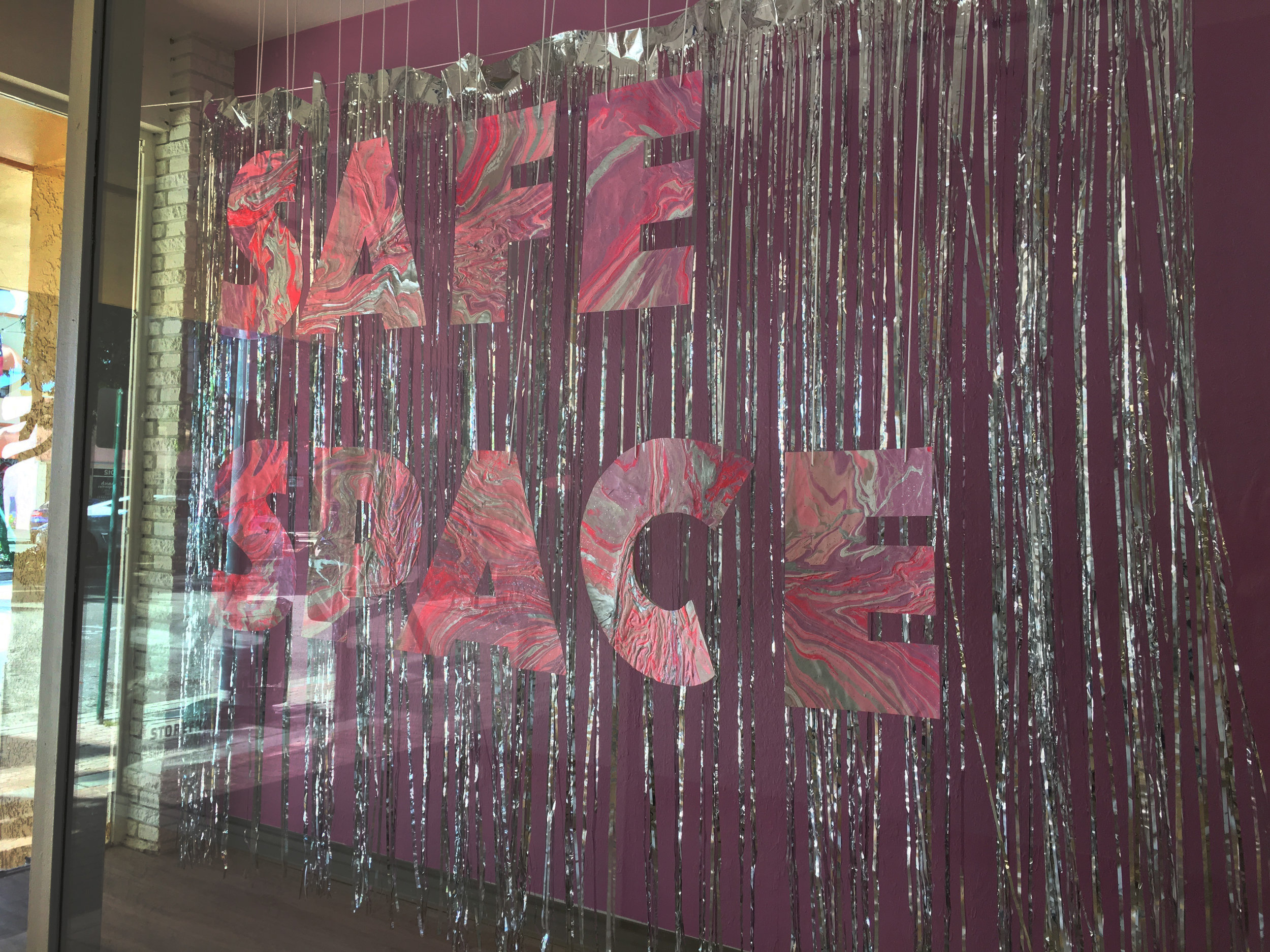 SAFE SPACE Installation