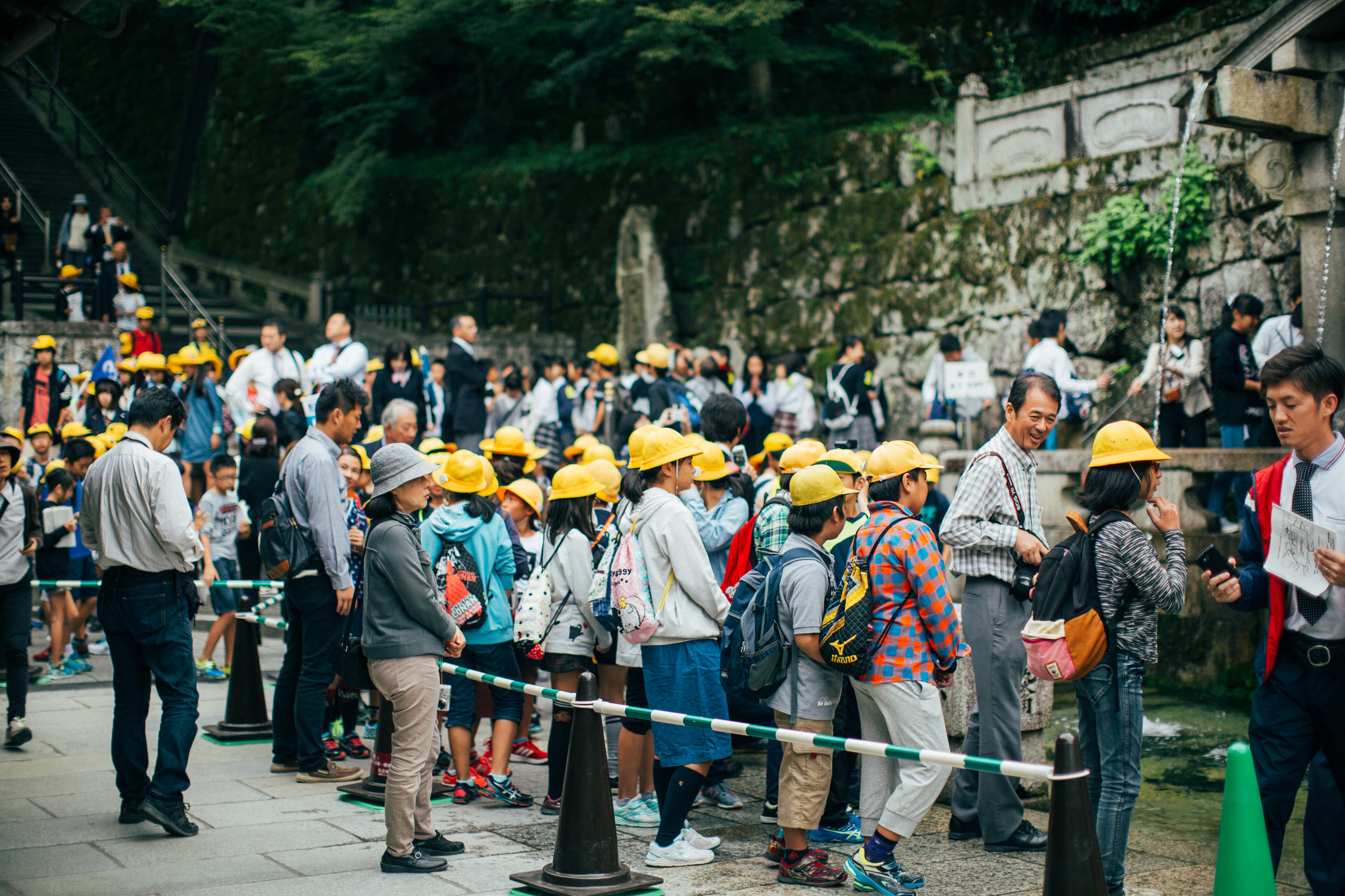 F#^K.   (Though seriously, it was pretty entertaining seeing these kids around the temple. There were literally dozens of queues but everything was pretty damn orderly. Not a surprise, I guess.)