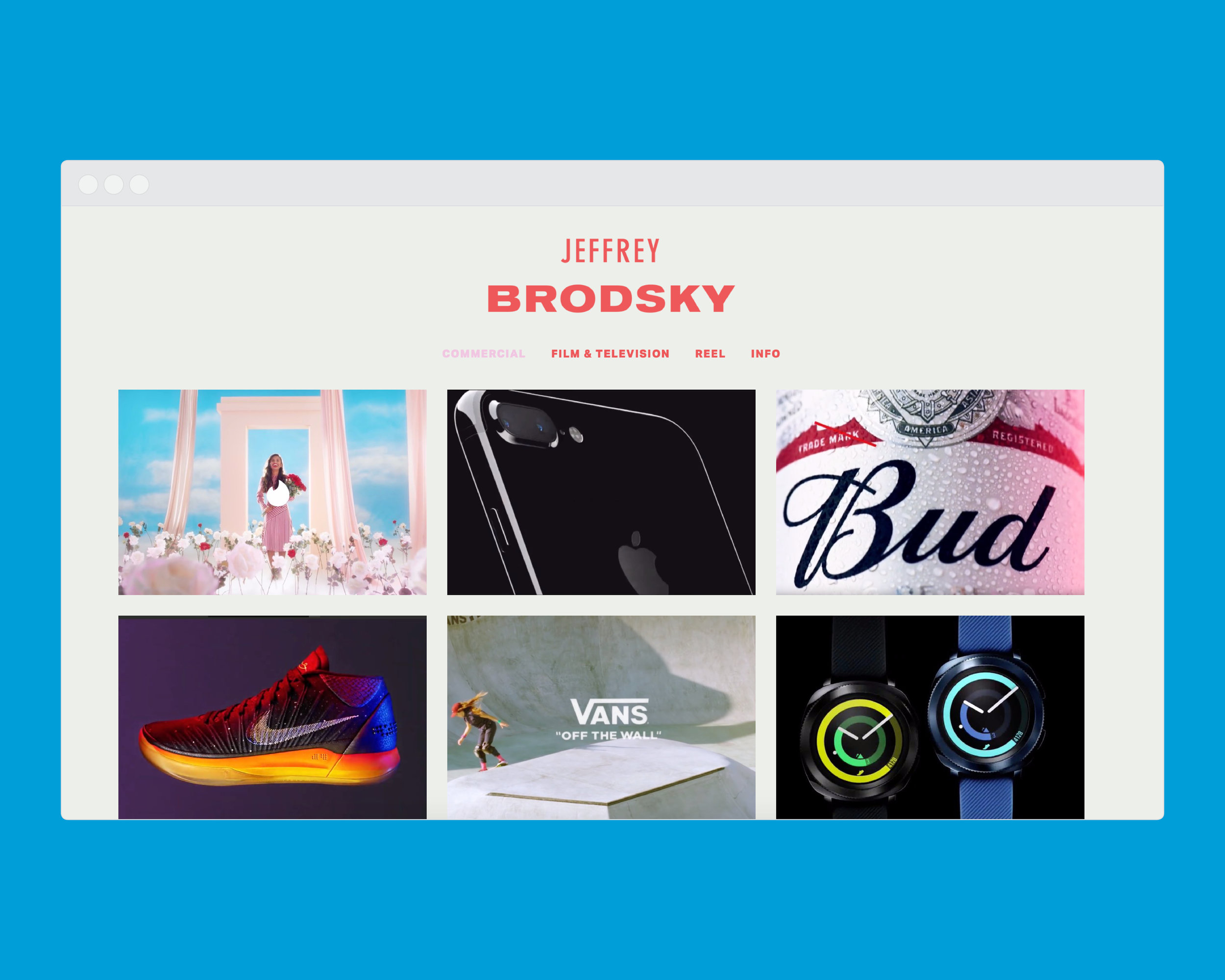 Client: Jeffrey Brodsky  Los Angeles, California