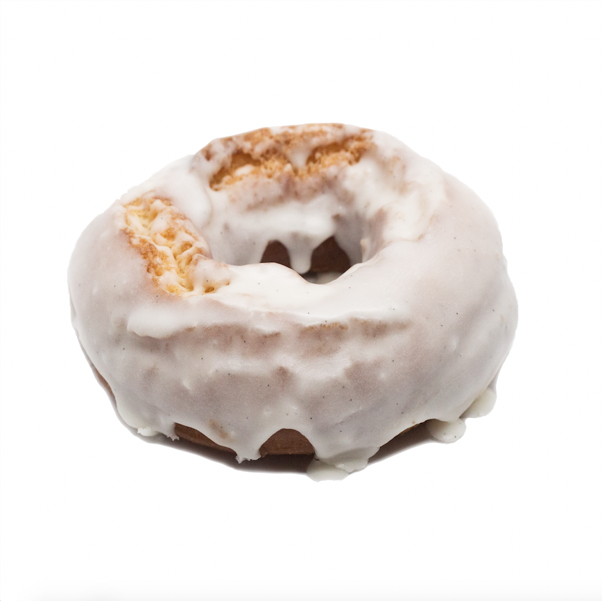 Old Fashioned  - classic cake doughnut with vanilla bean icing