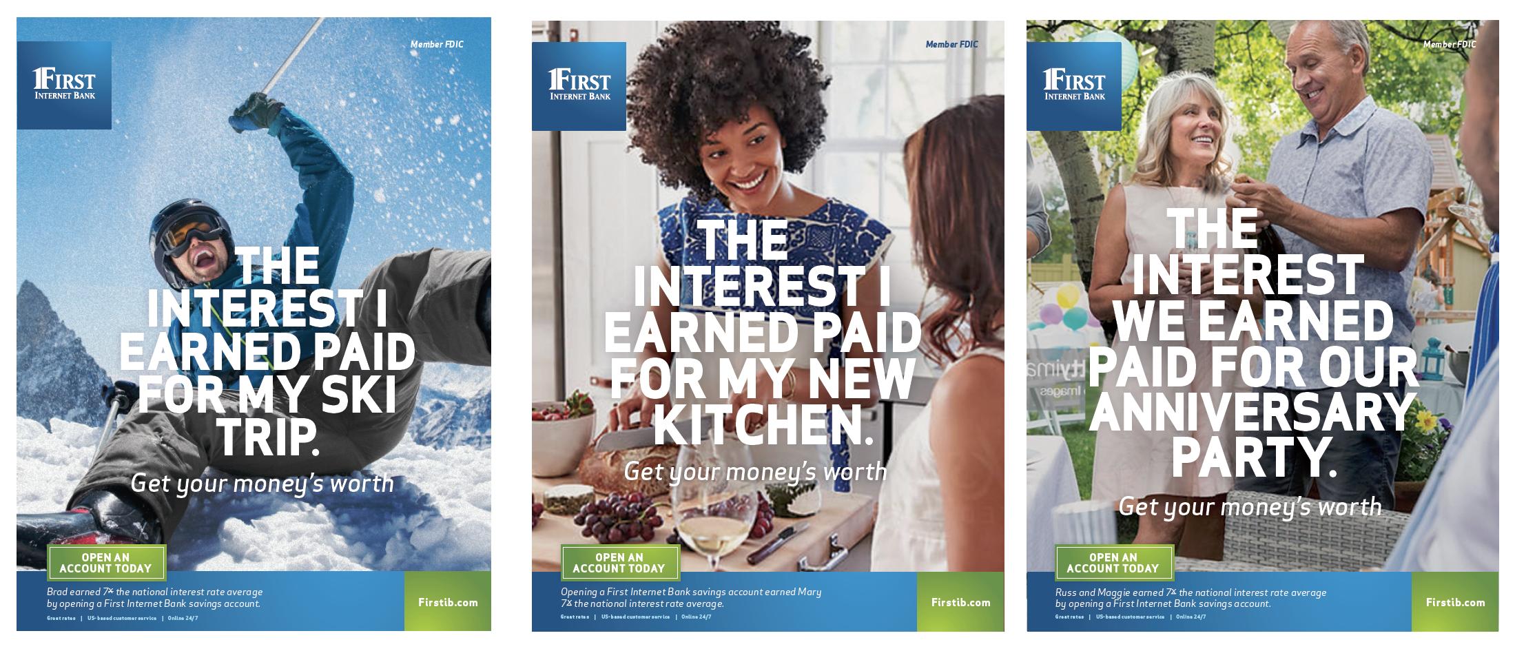 First Internet Bank Spec Ads