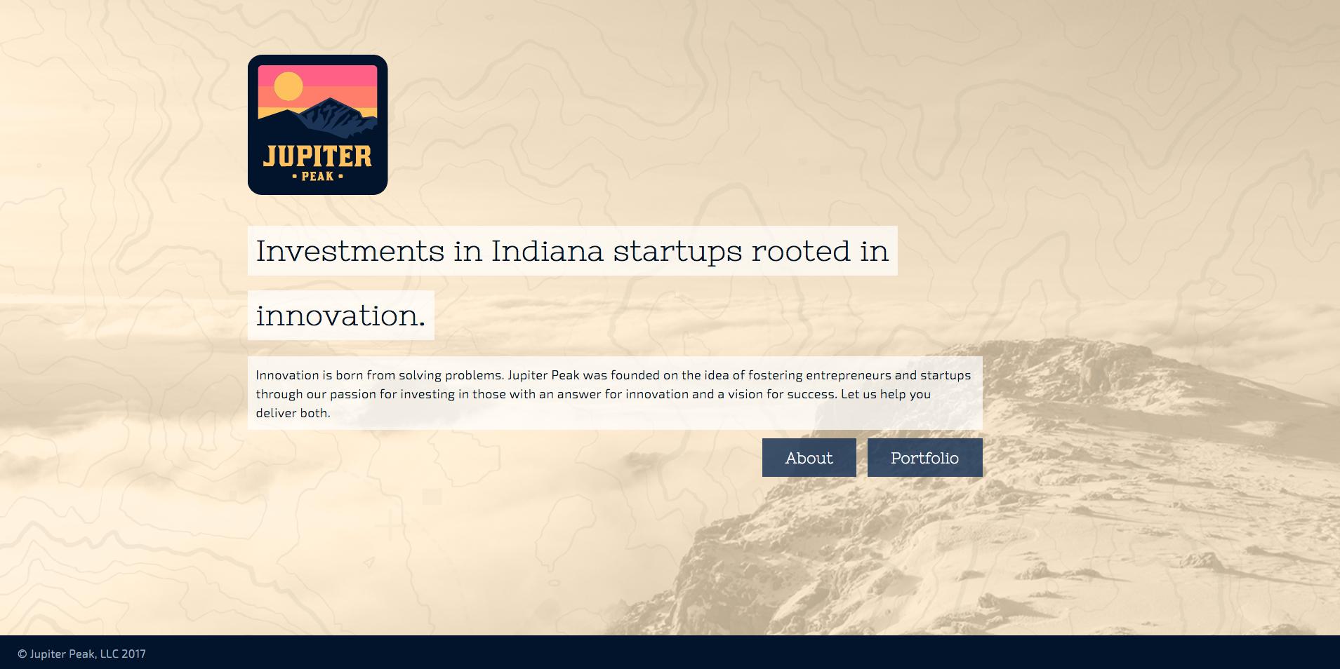 Jupiter Peak Website