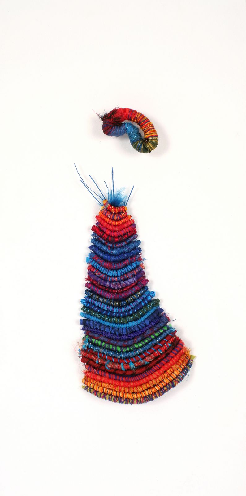 Miss Prism (2006). Wire, plastic, fabric & wood.