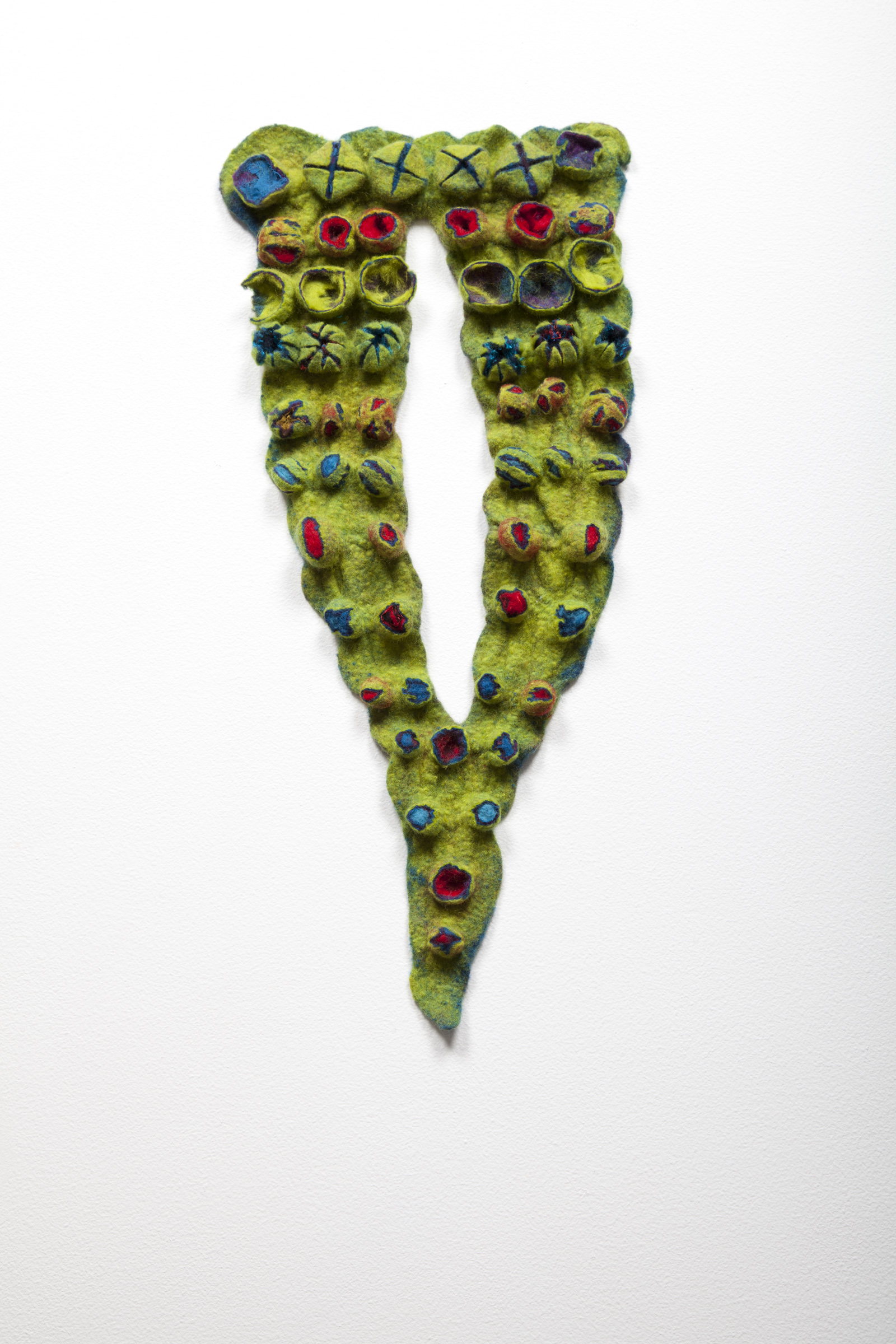 Homage to Marjolein (2012). Felted merino wool