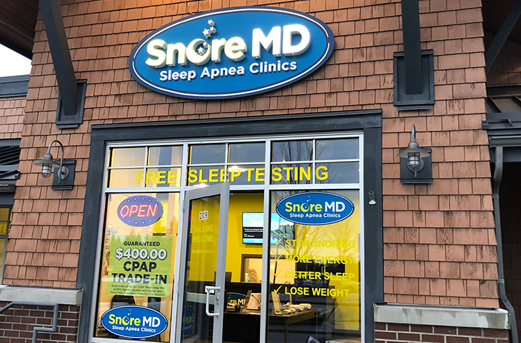 Visit Gibsons Snore MD sleep apnea clinic, in Gibsons Park Plaza, to learn more about getting a better quality sleep.