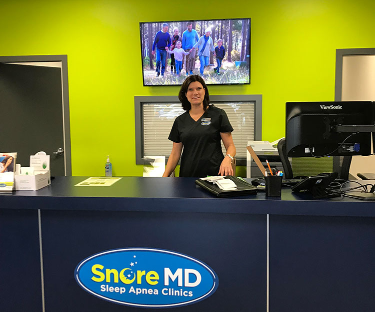Our friendly Snore MD dream team welcome walk-in patients 6-7 days a week!