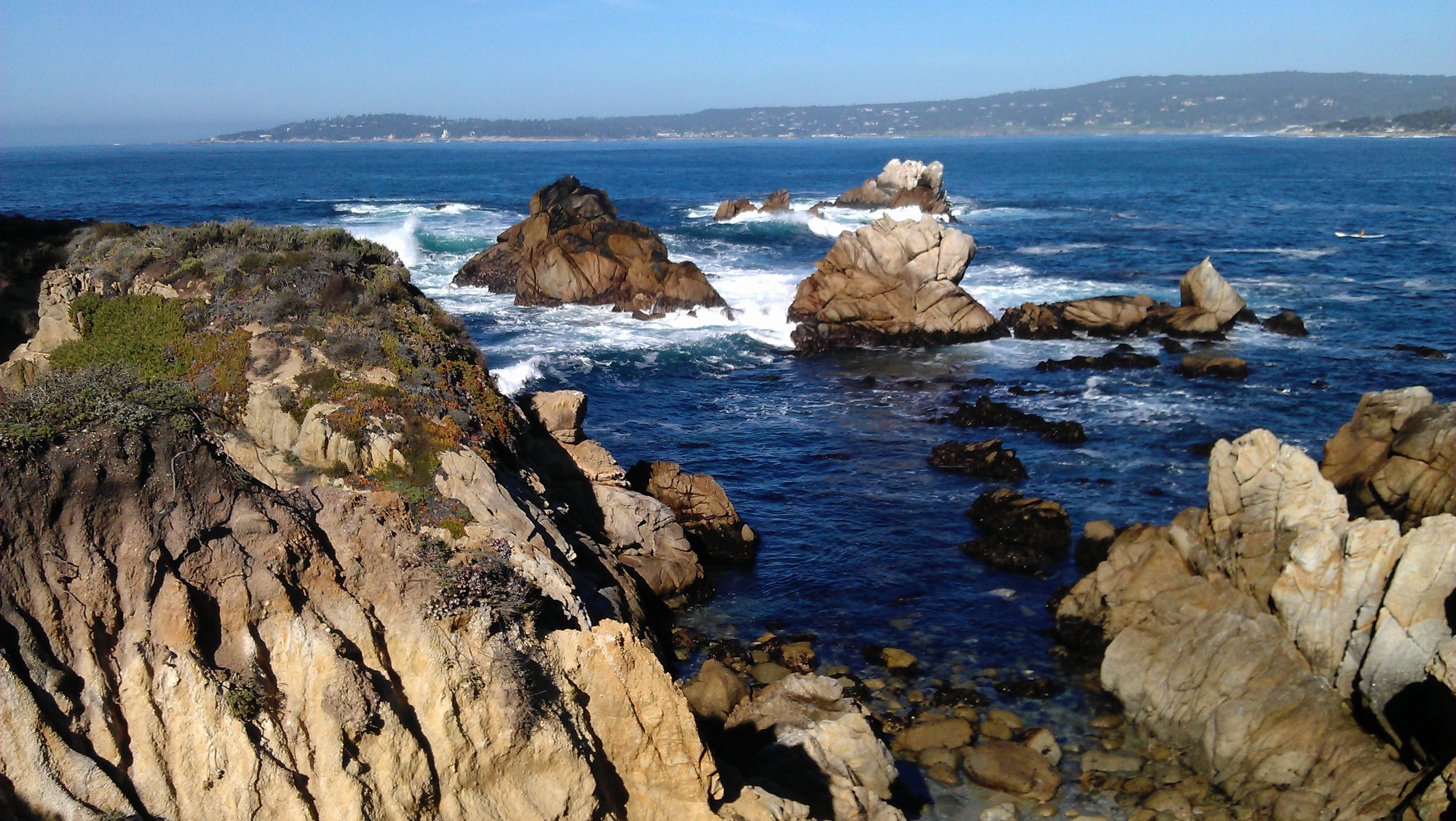 Swells and currents become hypnotizing at Point Lobos
