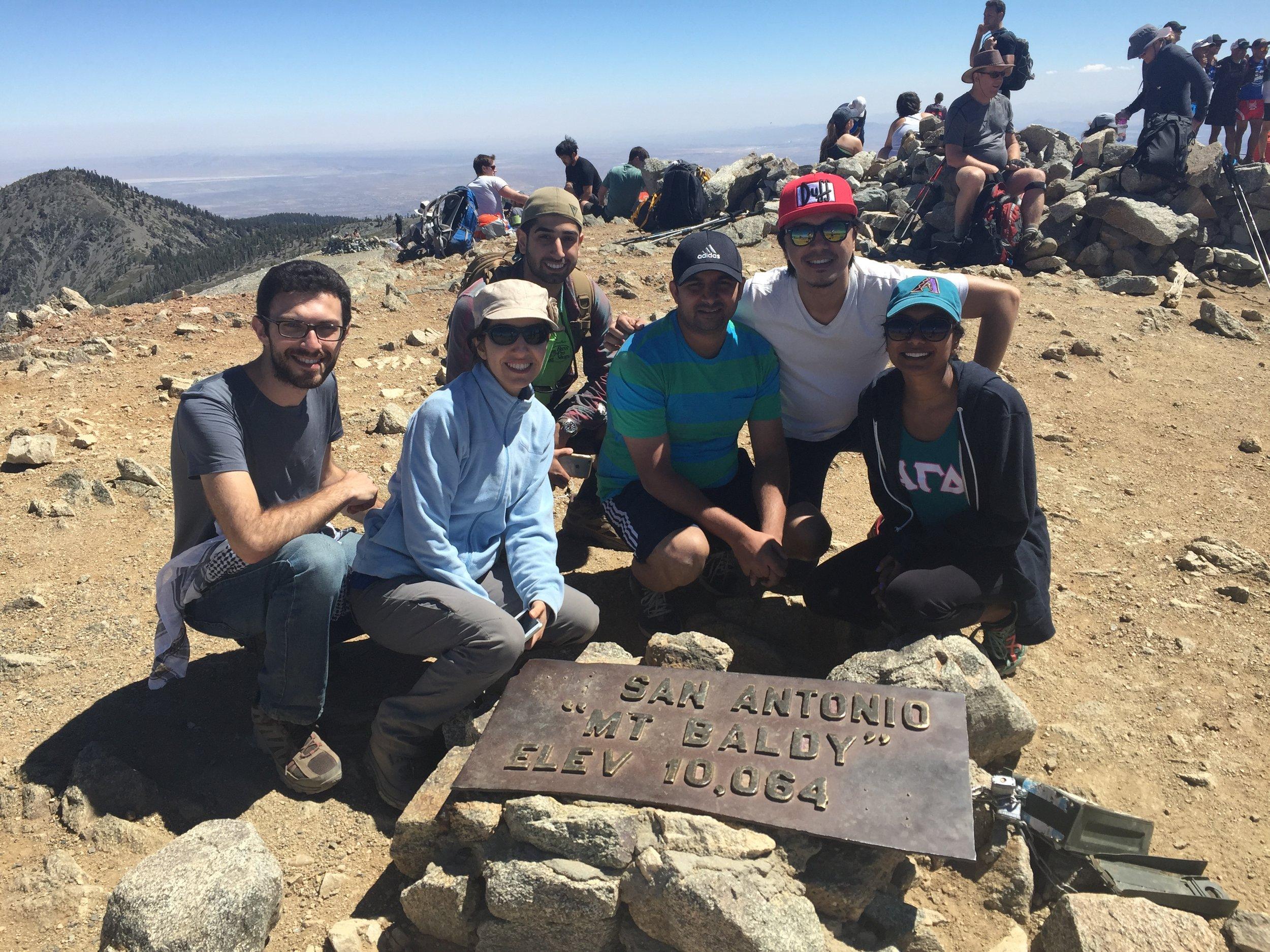 Summit of Mt. Baldy!