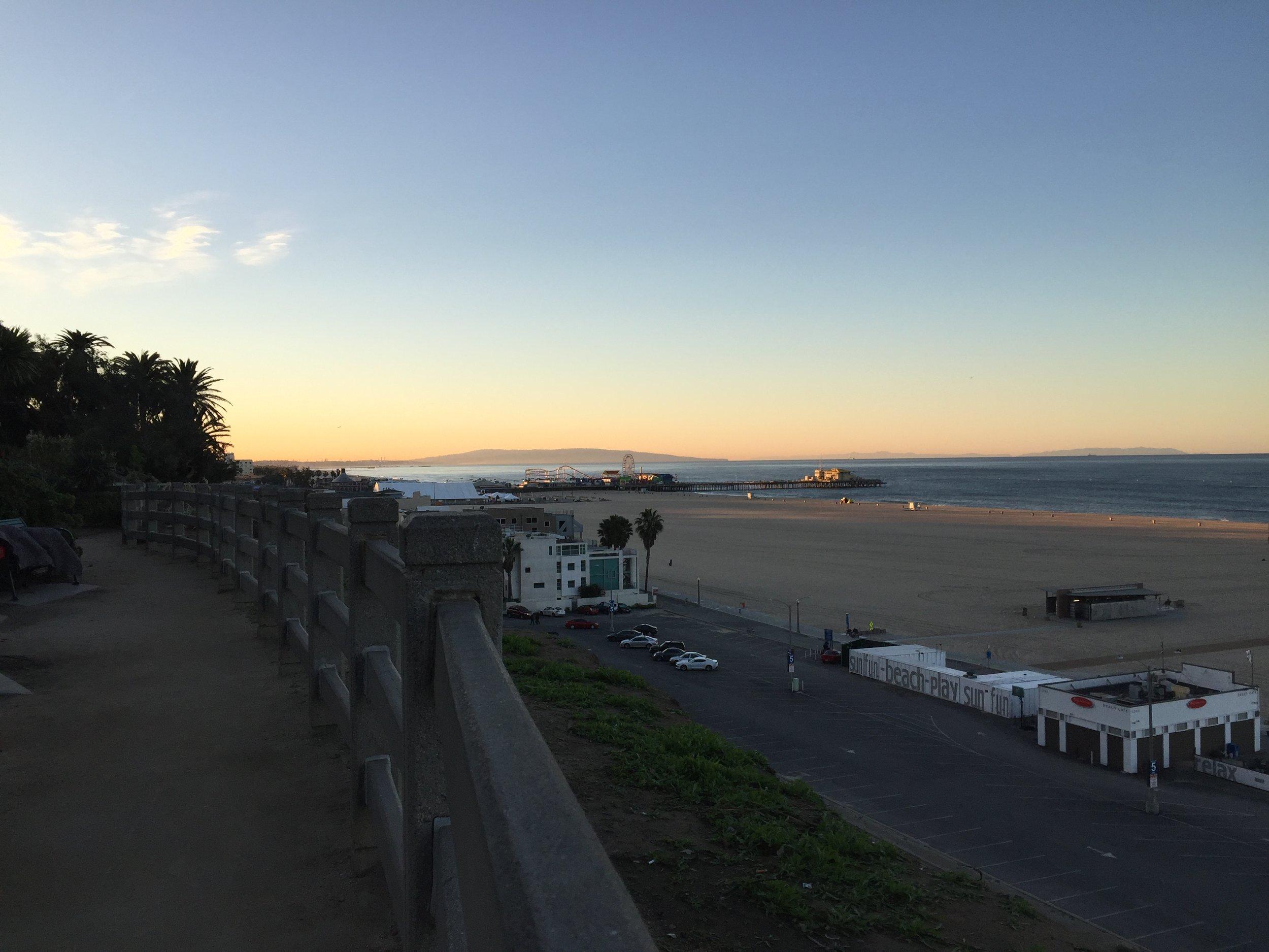 In Santa Monica