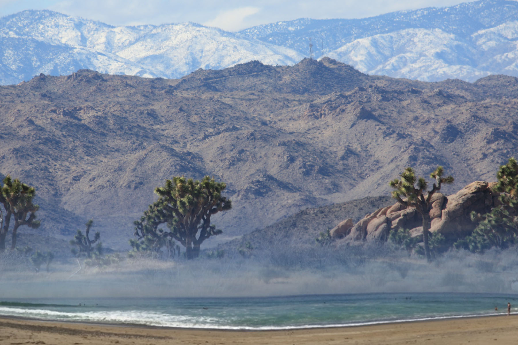 Pristine snow, desert, and ocean are all within reach in California