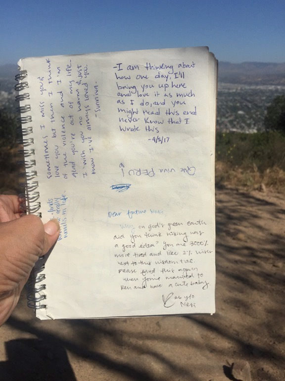 Positive messages at the Wisdom Tree
